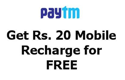 free-Rs-20-recharge-at-paytm